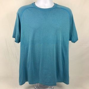 Lululemon Metal Vent Tech Blue Sz XL